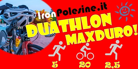 IronPolesine DUATHLON MAXDURO! per beneficenza tickets