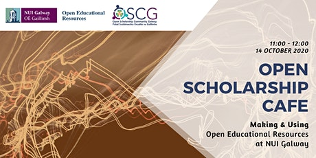 OSCG Cafe: Making and using Open Educational Resources at NUI Galway tickets