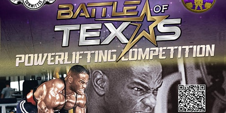Battle of Texas Powerlifting Competition tickets