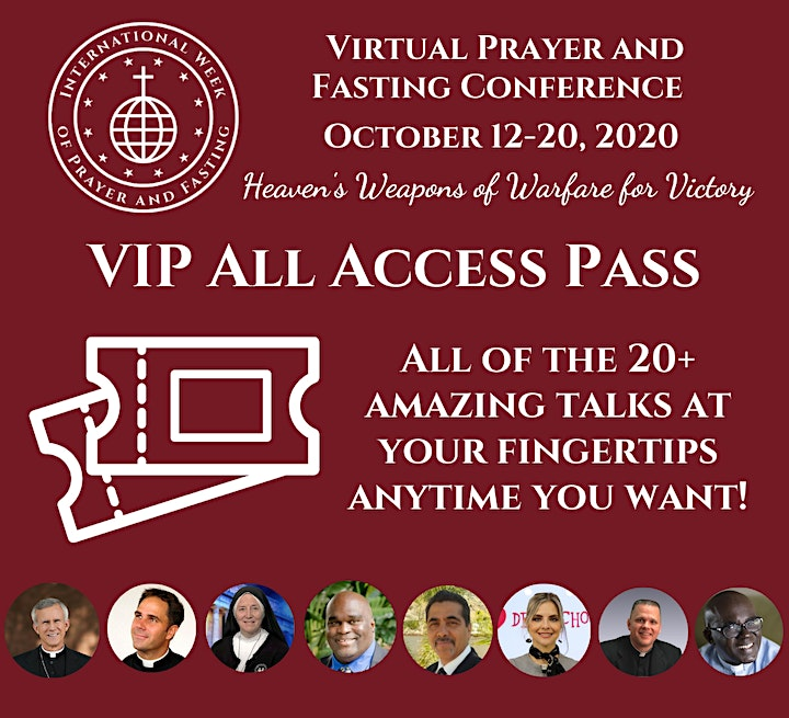 International Week of Prayer and Fasting - Virtual Conference (2020) image
