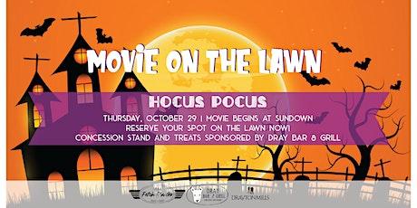 Movie on the Lawn: Hocus Pocus tickets