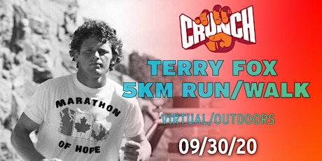 Crunch Canada's Terry Fox: 5KM Run/Walk tickets