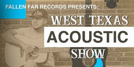 West Texas Acoustic Show tickets