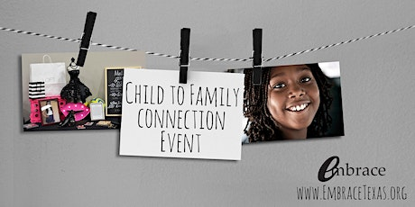 November 2020 Child to Family Connection tickets