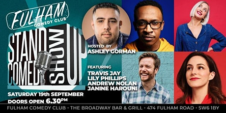 Fulham Comedy Club tickets