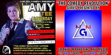 """Curlies Comedy Presents: """"The Comedy Revolution"""" with Amy Tee tickets"""