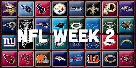 NFL Week 2 tickets