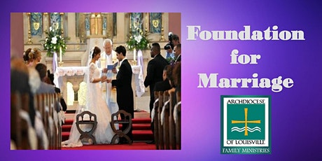 Foundation for Marriage (September 18, 2021) tickets