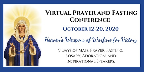 International Week of Prayer and Fasting - Virtual Conference (2020) tickets