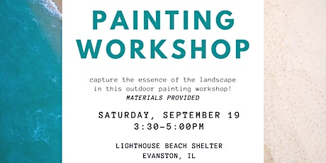 Painting Workshop - En Plein Air Painting at Lighthouse Beach tickets