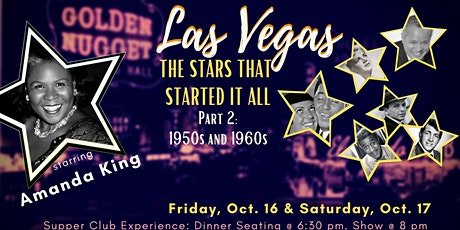 The Vegas Room presents AMANDA KING - VEGAS: The Rat Pack Years - 50's/60's tickets