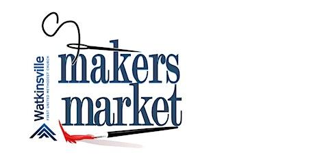Makers Market Craft Fair - Vendor Registration tickets