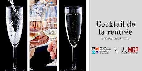 Cocktail de la Rentrée - PMI billets