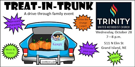 Treat In Trunk Drive Through Event tickets