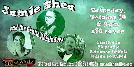 Jamie Shea and the Gentle Reminders LIVE at Stonewalls tickets