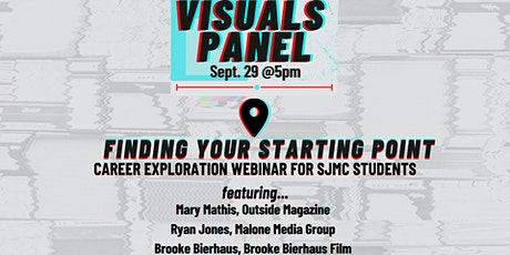 Finding Your Starting Point: Explore Careers in Visuals Webinar tickets