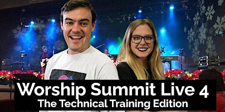 Worship Summit Live 4 - Technical Training Event tickets