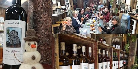Felted Snowman Making & Winter Wine Tasting tickets