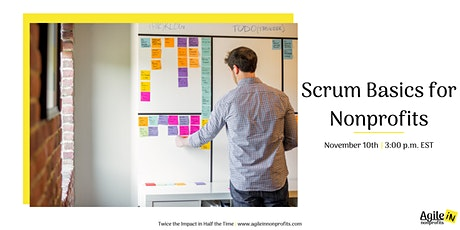 Scrum Basics for Nonprofits tickets