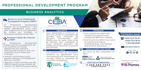 Professional Development Program in Business Analytics tickets