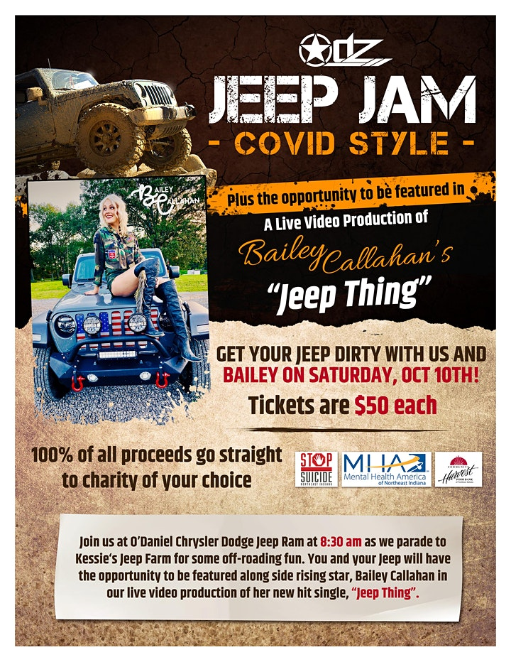 ODZ Jeep Jam  CO-VID Style image