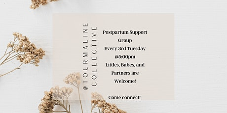 Free Postpartum Support Group at Tourmaline Birth and Wellness Collective tickets
