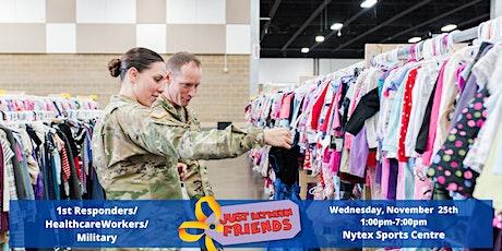 JBF 1st Responders & Military Presale Ticket | NRH - November 25 tickets