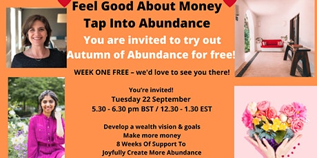 Create More Abundance This Autumn tickets