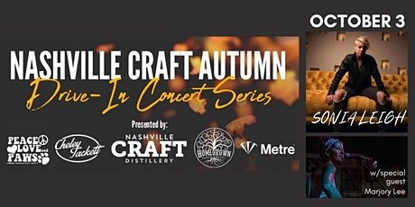 Nashville Craft Drive In Concert- Sonia Leigh with Marjory Lee tickets