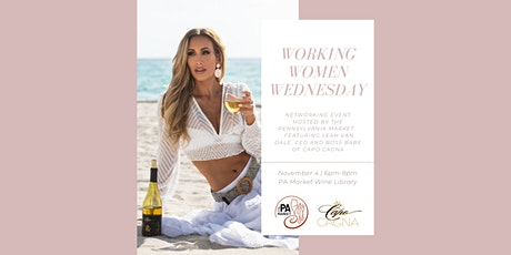 Working Women Wednesday featuring Leah Van Dale tickets