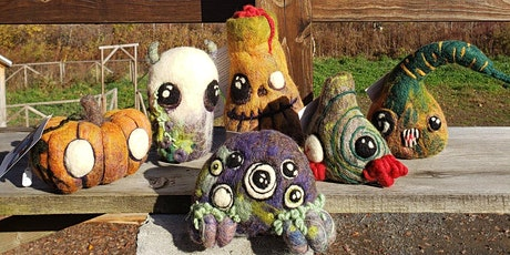 Felted Monsters Virtual Workshop with Art Kit tickets