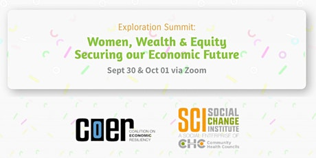 Women, Wealth and Equity: Securing Our Economic Future tickets