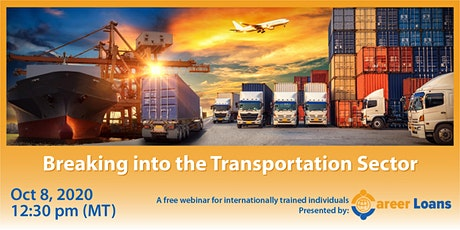 Breaking into the Transportation Sector tickets