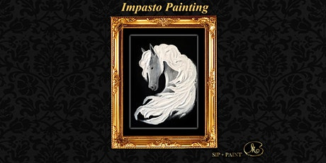 Palette Knife Painting Workshop : Silver Horse (Sunday) tickets