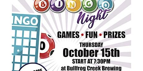 Miles For Moffitt Bingo Night at Bullfrog Creek tickets