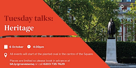 Redesigning Grosvenor Square: Tuesday talk on Heritage tickets