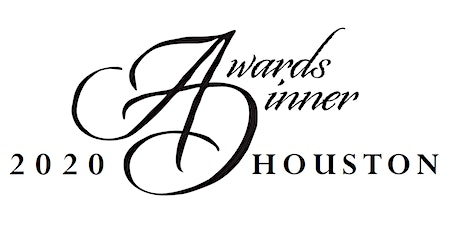 2020 Houston Awards Dinner tickets