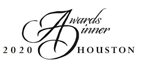 2020 Houston Awards Dinner tickets