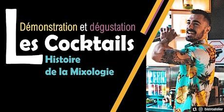 Initiation à la mixologie et dégustation de cocktails billets