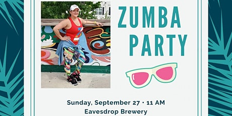 Zumba at Eavesdrop Brewery tickets