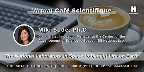 Virtual Café Scientifique | National Laboratory in Space tickets