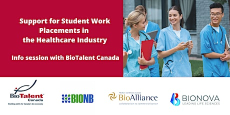 Student Work Placements for Healthcare with BioTalent Canada tickets