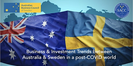 Breakfast webinar: Business & investment trends in Australia and Sweden tickets