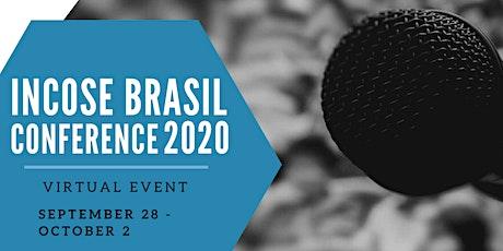 INCOSE BRASIL CONFERENCE 2020 - Patrocínio tickets