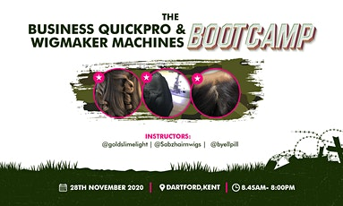 The Business QuickPro & Wigmaker Machines Bootcamp. tickets