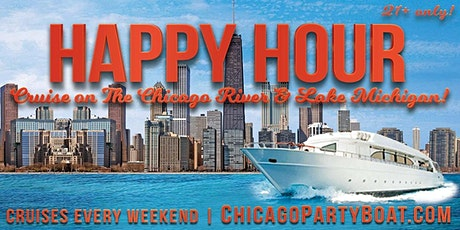 Standby Tix for the Happy Hour Cruise on Chicago River & Lake Michigan tickets
