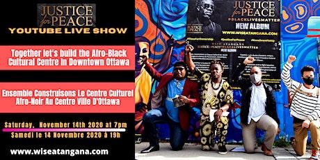 Justice for Peace #BlackLivesMatter exclusive concert on YouTube billets