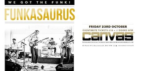 Funkasaurus Live tickets