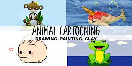 Animal Cartooning Art Club | 4 Weeks October | Ages 4+ tickets