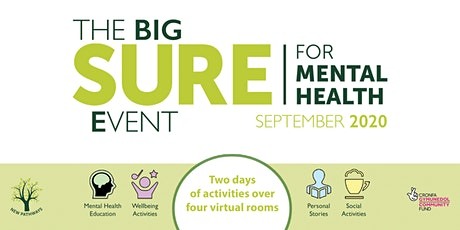 The BIG SURE for Mental Health Event - Sanisha Wynter's Personal Story tickets